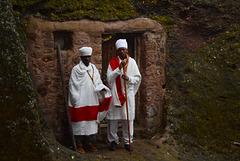 Priests of Ethiopian Church