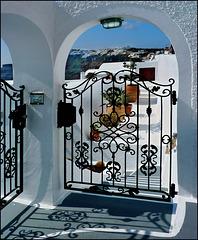 Santorini : Thira e laggiù Oia - (980)