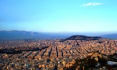 GR - Athen - Blick vom Lykavittos