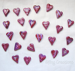 Heart Rune Stone Set (fronts)