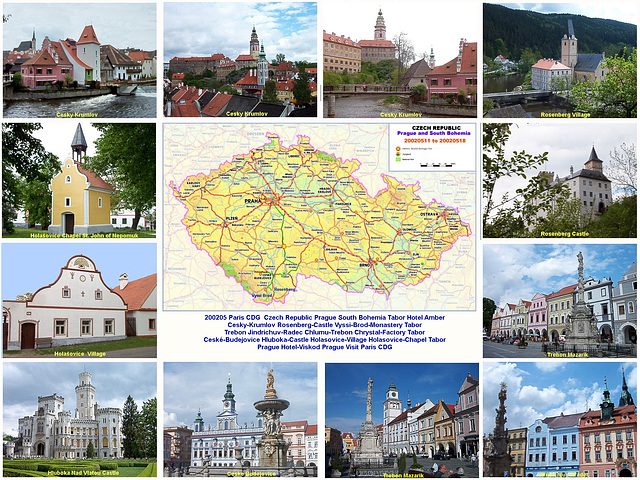 Some Highlights of South Bohemia
