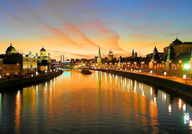 Digue du Kremlin au Crépuscule (on EXPLORE)