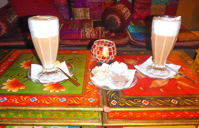 Chai Latte Im Feng Shui Haus Pirna