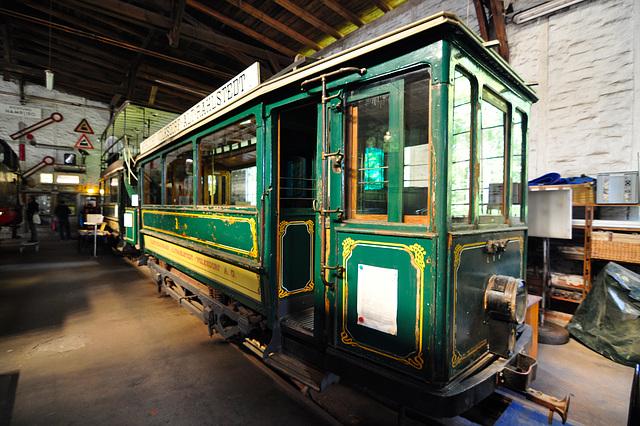 Eisenbahnmuseum Lokschuppen Aumühle 2015 – 1905 Kleinbahn-Triebwagen 3