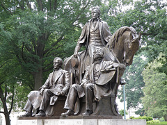 Presidents Polk, Jackson and Johnson