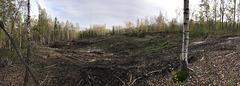 Landslide im Altbergbaugebiet