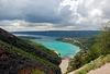 Der Tag nach dem Unwetter: Lac de Sainte-Croix, France