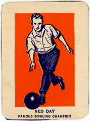 Ned Day, Famous Bowling Champion