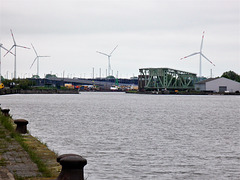 Im Verbindungshafen Bremerhaven