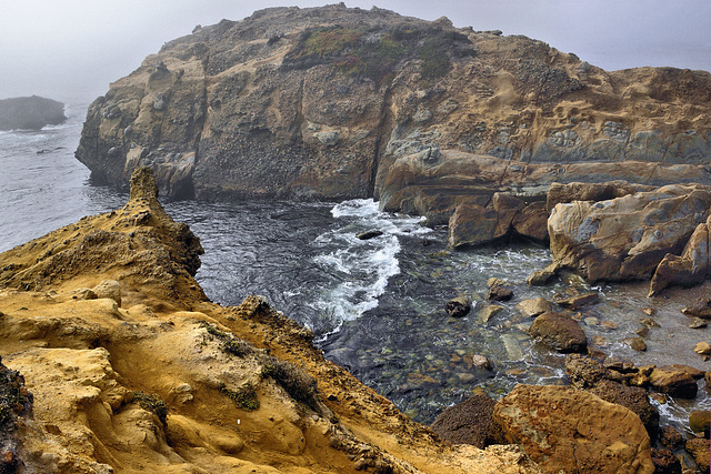 Among the Rocks – Point Lobos State Natural Reserve, California