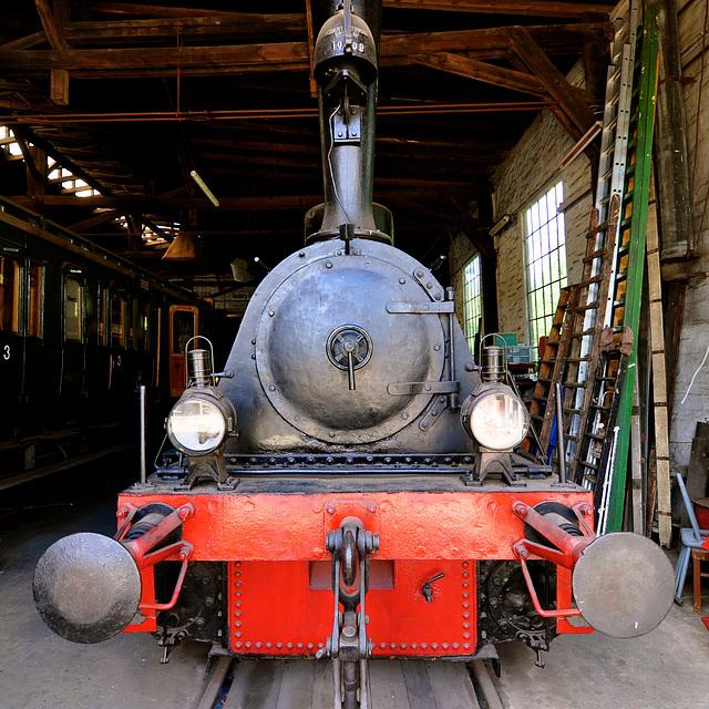 Eisenbahnmuseum Lokschuppen Aumühle 2015 – 1902 Steam Engine Prenzlauer Kreisbahn PK3
