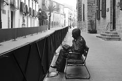 A long wait in Baeza - Antonio Machado