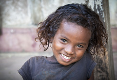 © La petite fille d'Antanandava - Sainte-Marie (Madagascar)