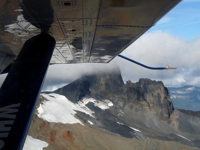 Aerial View Of Black Tusk Mountain