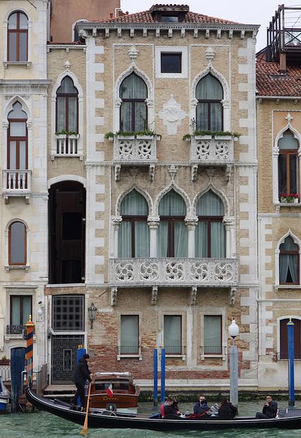Pierced balconies