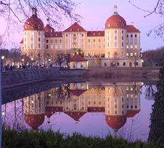 Schloss Moritzburg bei Dresden Weihnachten 2017