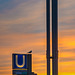 Golden Hour - Subway Entrance Überseequartier (300°)