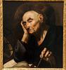 L'Astronome - Huile sur toile de Filipo Vitale - Musée Girodet à Montargis