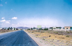 Roadblock Ahead - Deserted Qunaitra September 1971