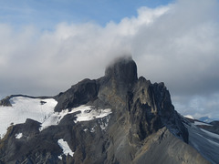 Aerial View Of Black Tusk Mountain