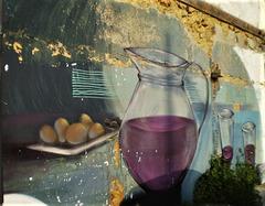 Wall painting by Mojojojo.