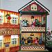 Victorian House Christmas Music Box