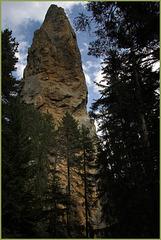 Monolithe cargneulique de Sardieres (Savoie)
