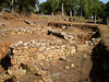 Ruins of Roman baths.