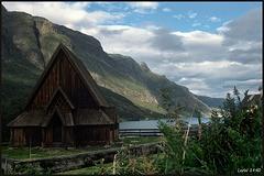 Norway 1990  Øye Stave Church