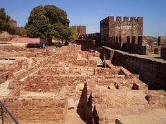 Ruins of Moorish settlement.