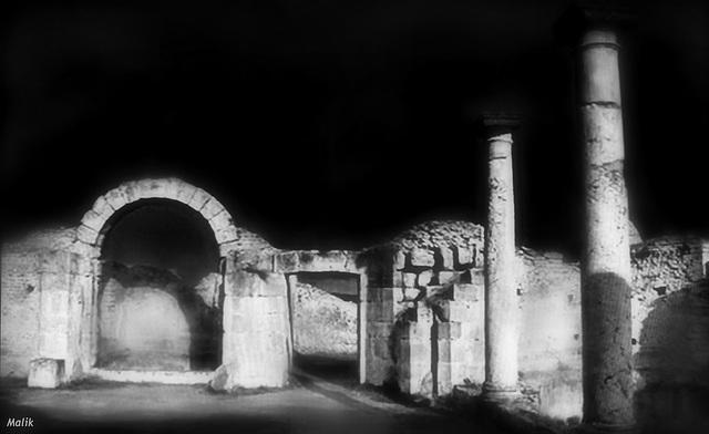 Du coté de la cité antique de Djemila.
