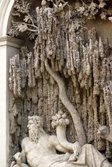 A Rome (Italie), le carrefour des Quatre Fontaines = le Quattro Fontane