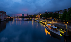Weser evening