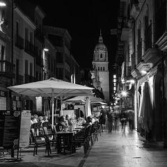 SALAMANQUE-Espagne, autour de la Plaza Mayor.