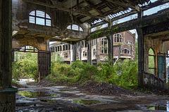 Coal mine du Gouffre - the fragile hall - 24