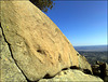 Granite slab. Sierra de La Cabrera.