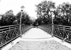 Okerbrücke und krumme Laternen :)