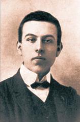 Edmond Privat en 1906 (ĉ. 17 jara)