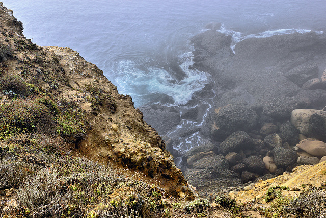 Ocean Swirls – Point Lobos State Natural Reserve, California