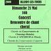 Concert Chorales à l'église de Blandy le 21/05/2000