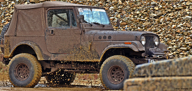 The Bad Touch... Jeep CJ7