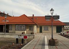 Bahnhof der Harzer Schmalspurbahn in Wernigerode