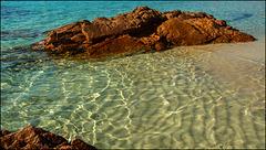 Am Strand von Palombaggia