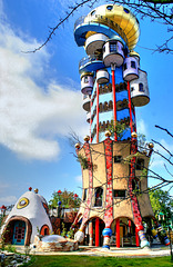Abensberg.  Hundertwasser Turm. ©UdoSm