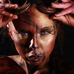 "Steampunk body painting ""Patric Greg"""