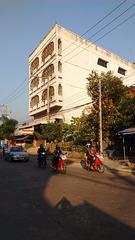 Détails architecturaux à saveur Thai.