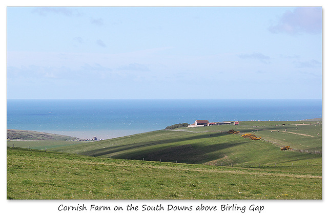 Cornish Farm & Birling Gap - Sussex - 30.4.2015