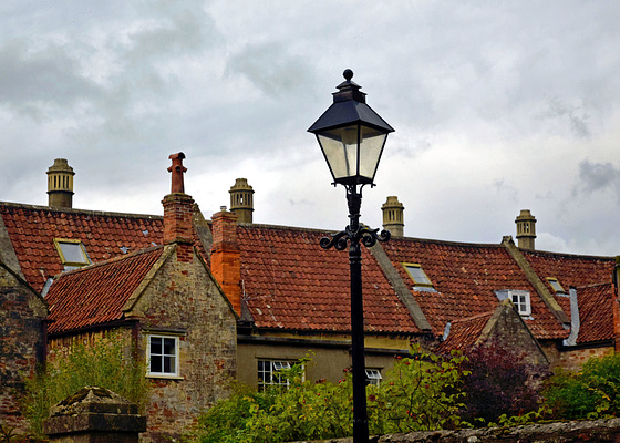 The back of Vicars' Close.