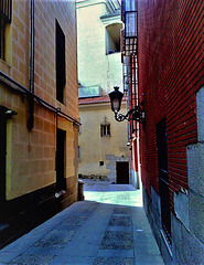Old Madrid. A quiet corner