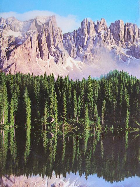 Lago Zuoi  Dolomitti  1974